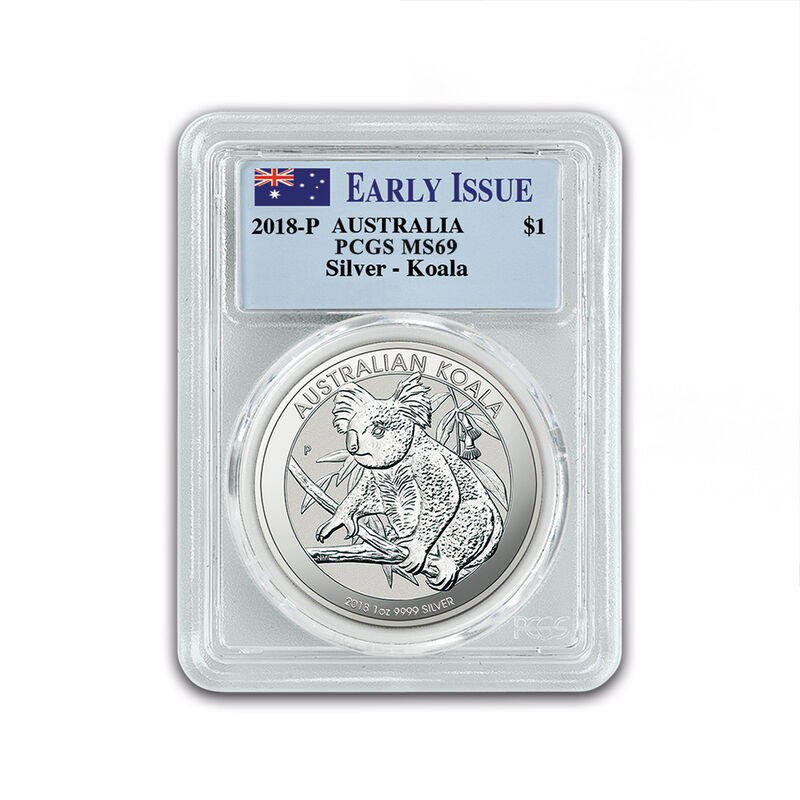 the 2018 early issue australian silver d UK A18D c three