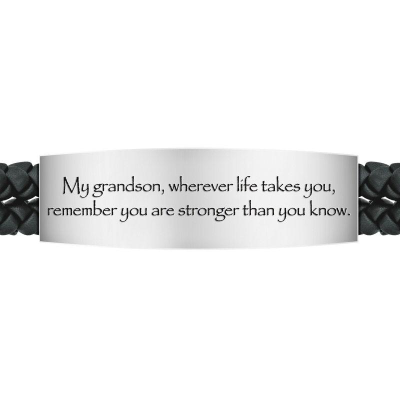 grandson southwest leather bracelet UK GSWLB b two