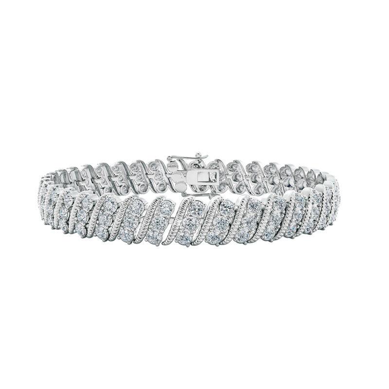 bold beautiful birthstone bracelet UK BSBBB d four