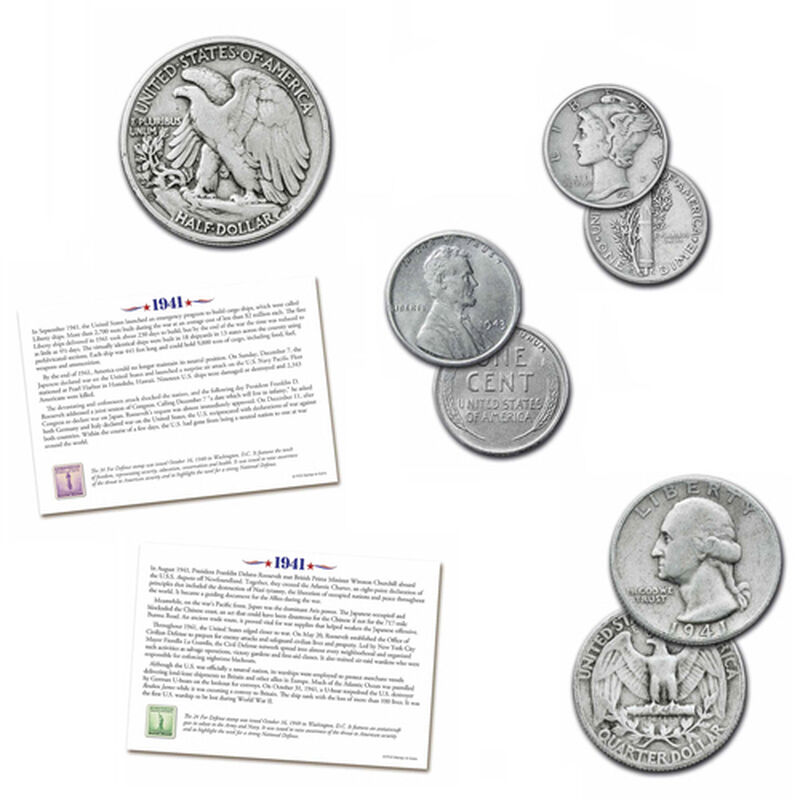 the world war ii u s coin collection UK USWC b two