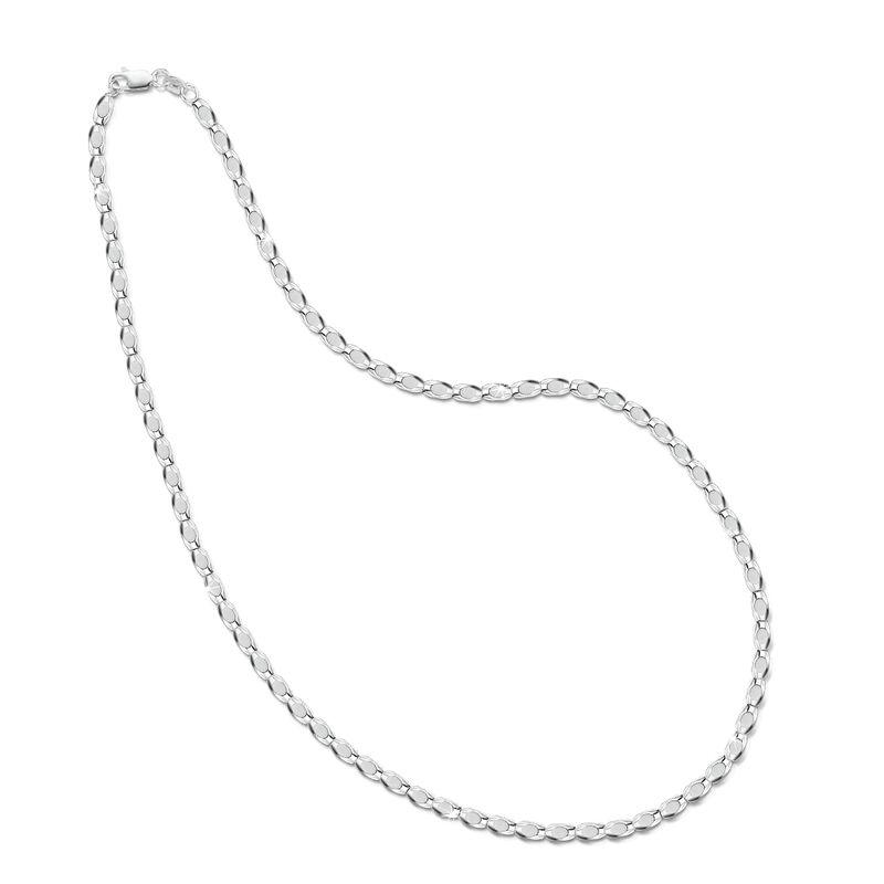 italian silver dew drop necklace UK ISDDN a main