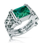 i can do all things birthstone ring UK ICDBR e five