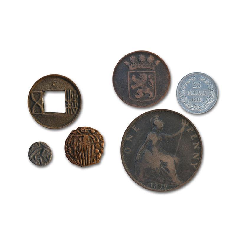 twenty centuries of coins UK 20CW c three