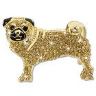 pug crystal brooch UK PGBRO a main