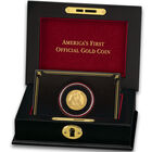 americas first official gold coin UK AFGC c three