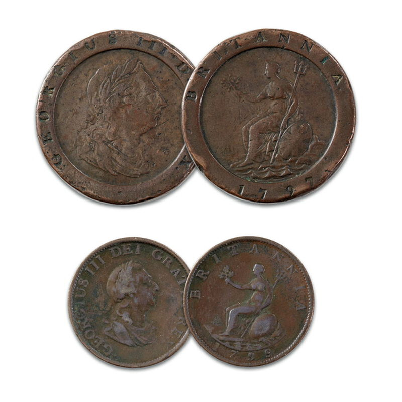 the george iii copper coin collection UK GCCC a main