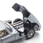 jaguar e type gunmetal grey UK JEGG f six