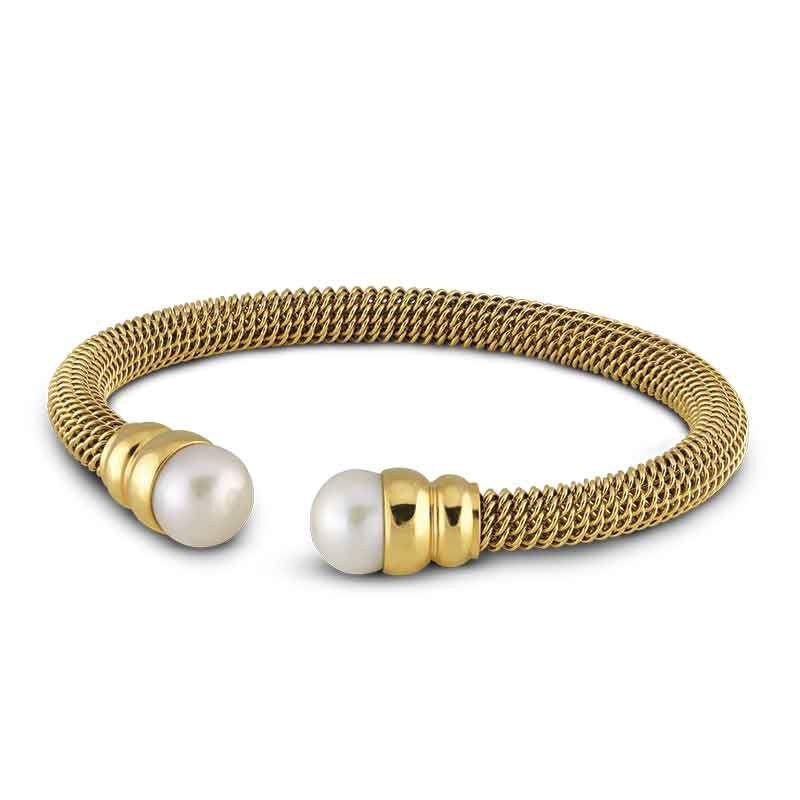 Golden Sophistication Pearl Bracelet 2360 001 8 1
