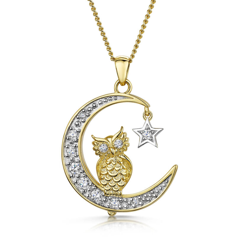 love whoo you are owl pendant UK LWYAP2 a main
