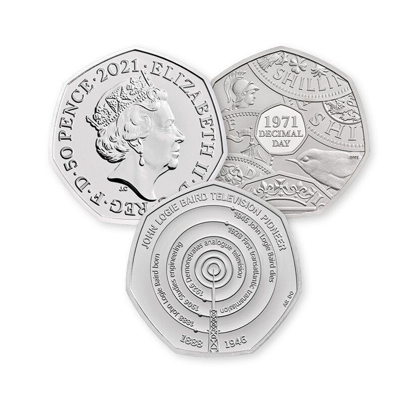 the 50p collector club UK FPCC c three
