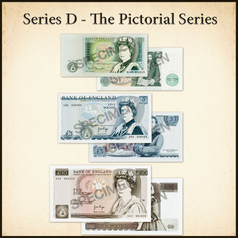 the bank of england collection UK BNC f six