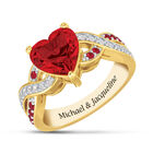 our love is true ruby red ring UK RRHR a main