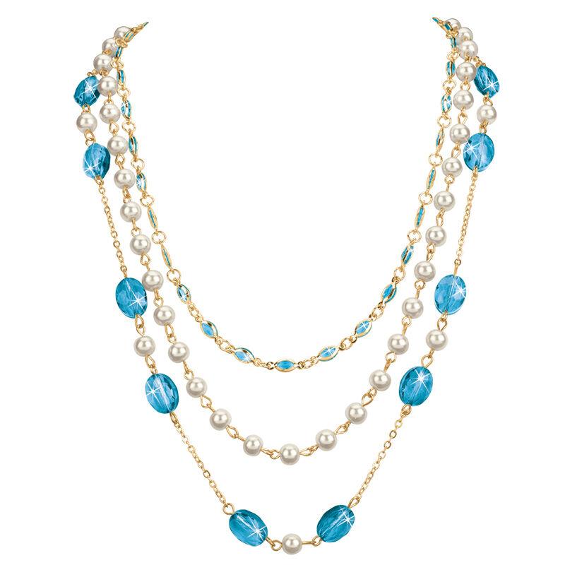 birthstone elegance necklace UK BENS o fifteen