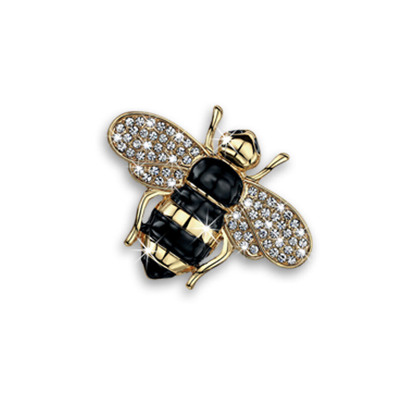 busy bee crystal jewellery set UK BBCJS d four