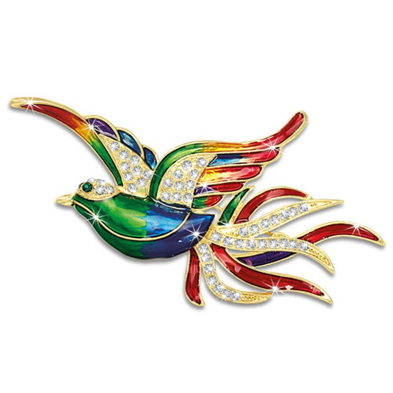 bird of paradise brooch UK BOPB a main