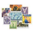 the world war ii u s stamp collection UK W2S a main