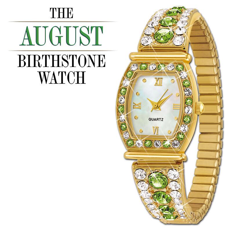 the birthstone personalised stretch watc UK BPSW h eight