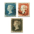 worlds first postage stamps UK WFPS a main