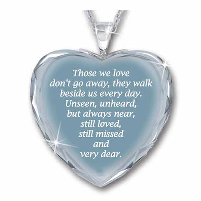 always in my heart crystal pendant UK AIMHP2 b two