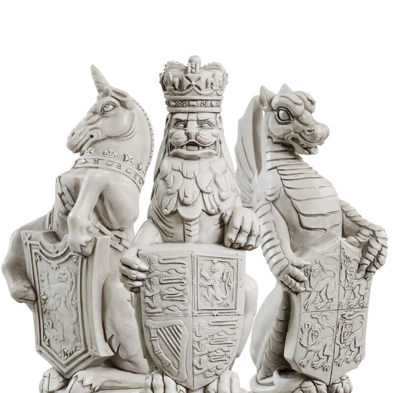 the queens beasts sculpture collection UK QBS b two