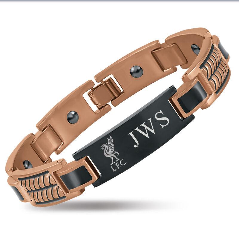 the football mens copper bracelet UK MCFB b two
