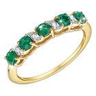 eternally emeralds 9ct gold ring UK EEGR2 a main