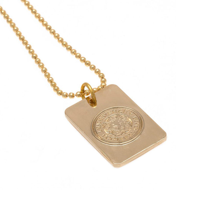 the leicester city gold plated dog tag UK LEGDT a main