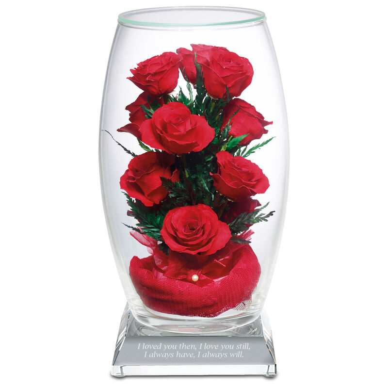 miracle rose bouquet with inscribed base UK MRBAS2 a main