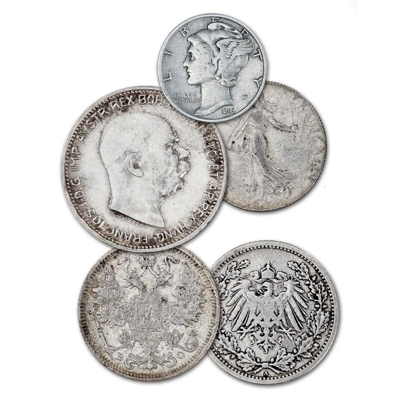 world war i silver coins UK WWSC a main