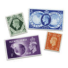 the george vi stamp collection UK G6ST a main