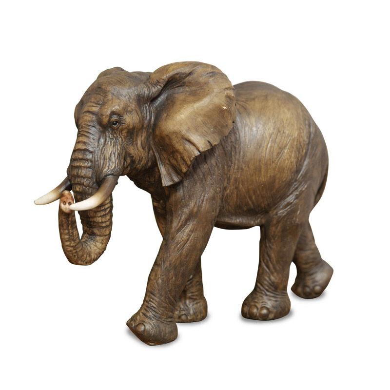 african bull elephant sculpture UK ABES a main