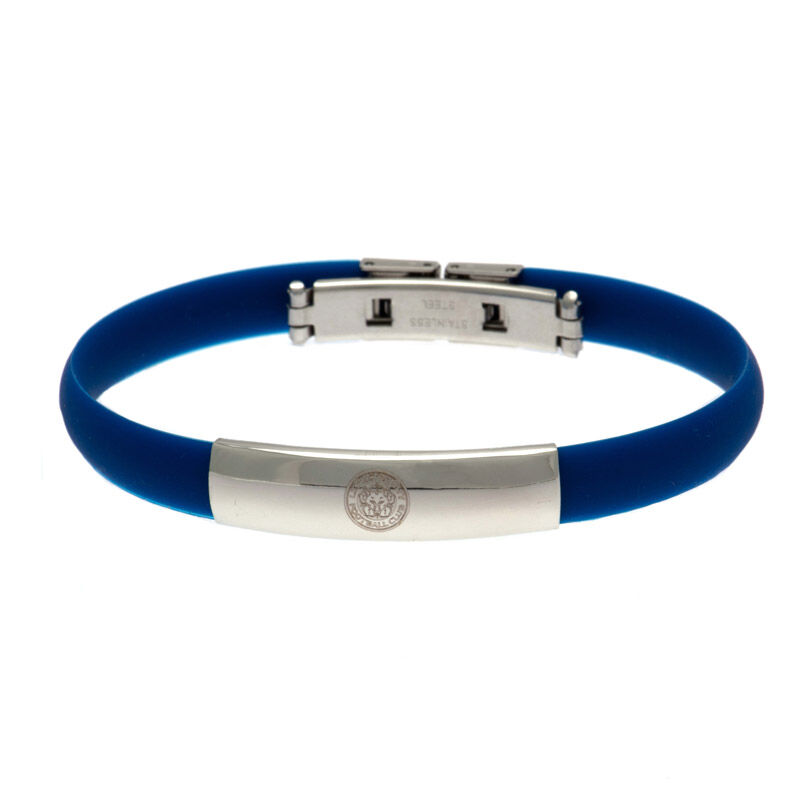 the leicester city silicone bracelet UK LESBR a main