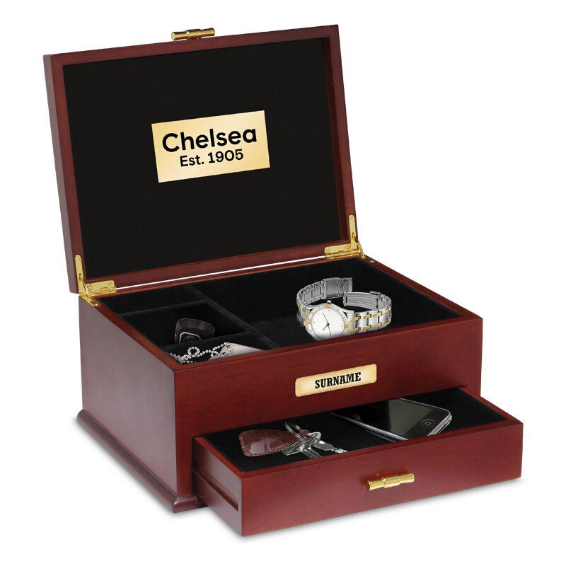 personalised chelsea fc valet box UK CHVB b two