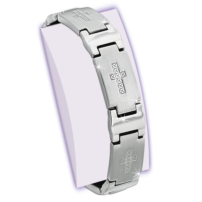 faith cross magnetic bracelet UK FCMAB a main