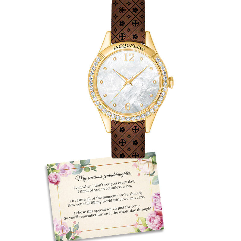 personalised granddaughter watch with ca UK PGWC b two