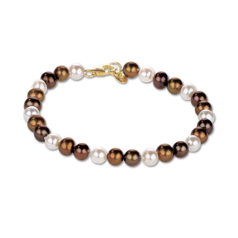chocolate pearl jewellery box UK CPJB2 d four