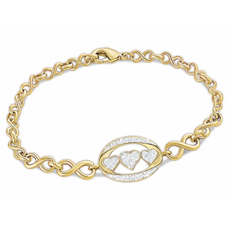 i love you diamond bracelet UK ILUBR2 a main