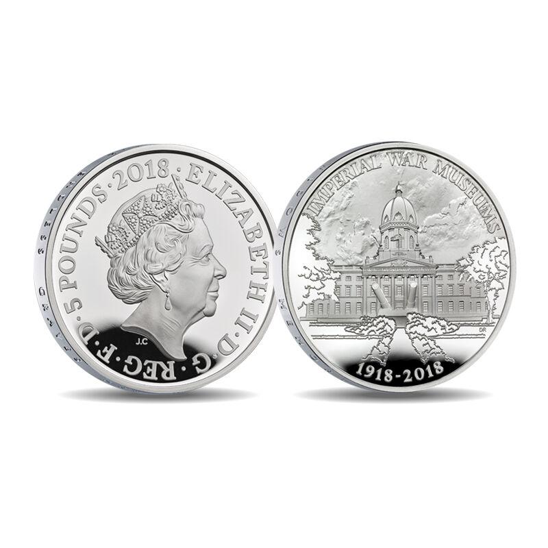 the wwi centenary 5 fine silver proof co UK CWWS g seven