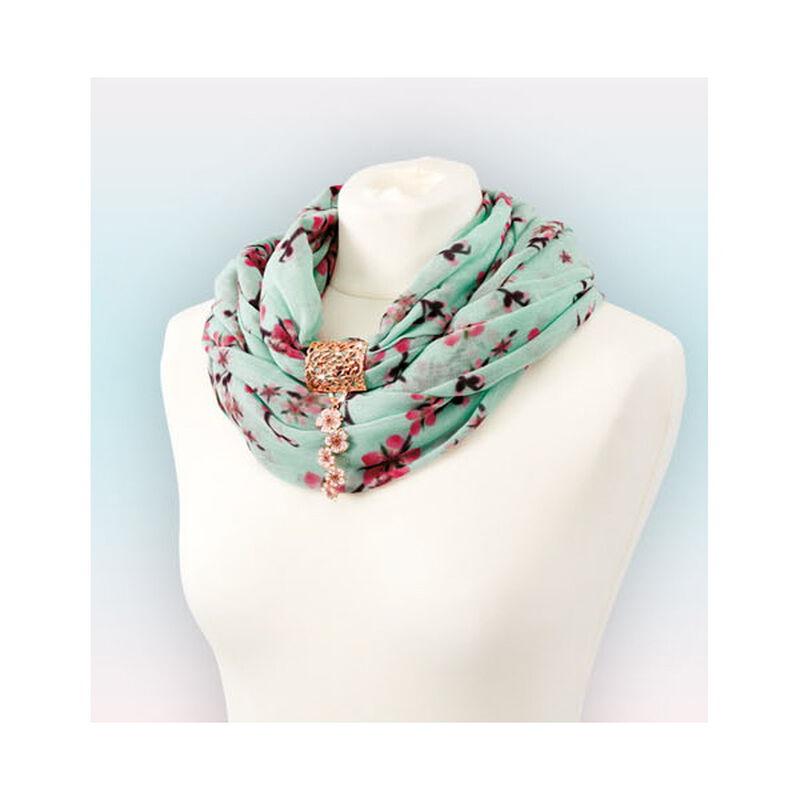 cherry blossom scarf pendant UK CBSP d four