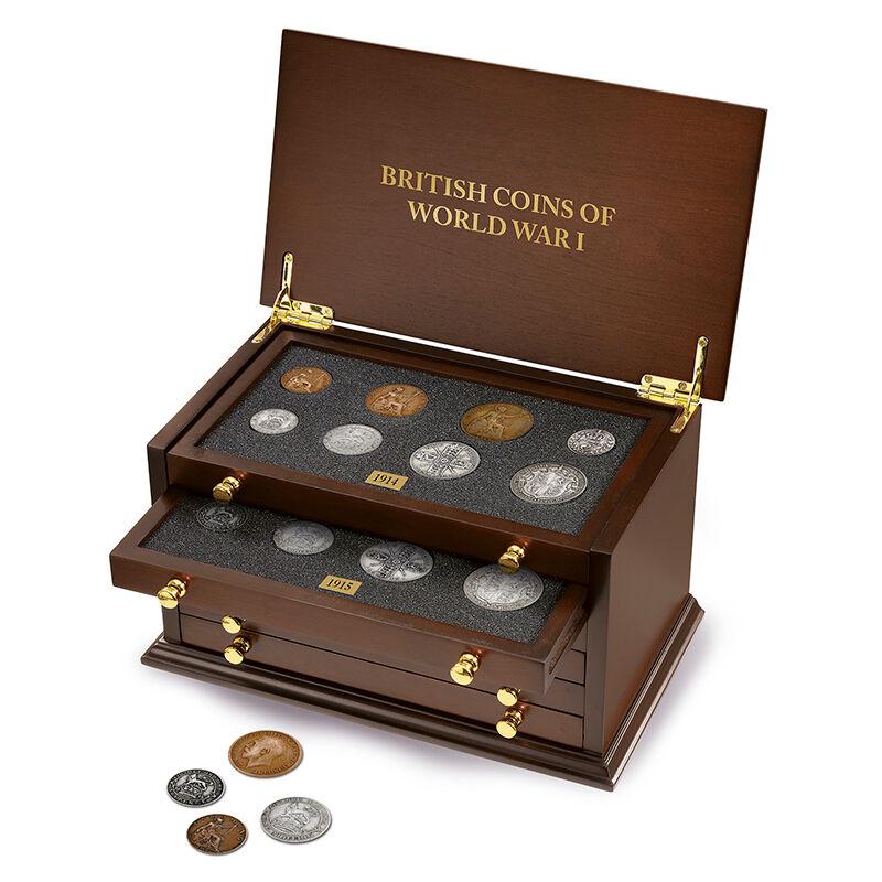 british coins of world war i UK WW1C a main