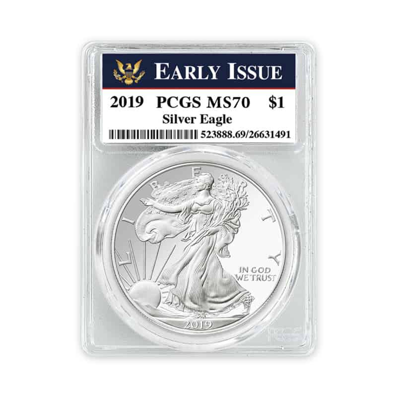 the 2019 uncirculated american eagle sil UK U19DX d four