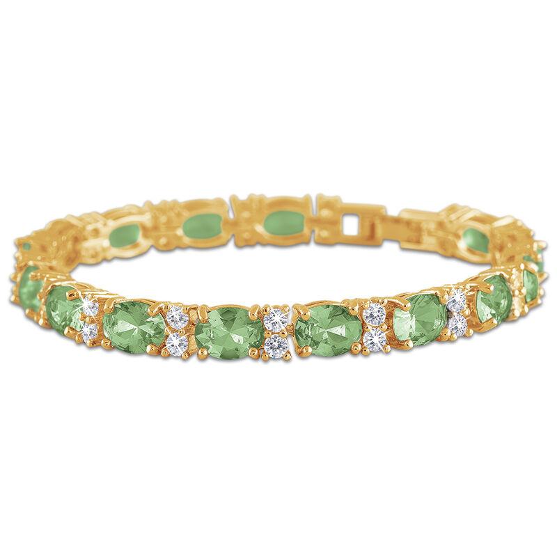 birthstone tennis bracelet UK BDTB2 i nine