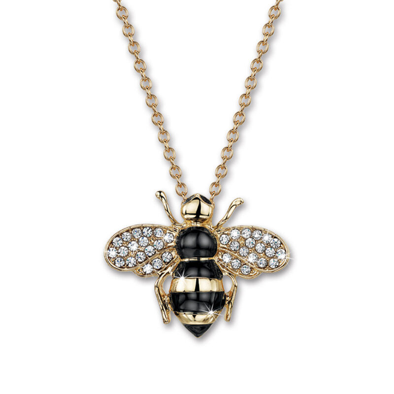 busy bee crystal jewellery set UK BBCJS b two