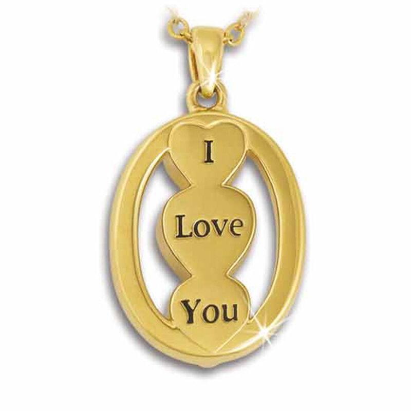 i love you birthstone pendant UK ILYBP2 m thirteen