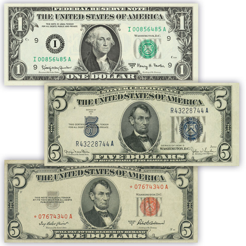 uncirculated united states currency UK UCC a main