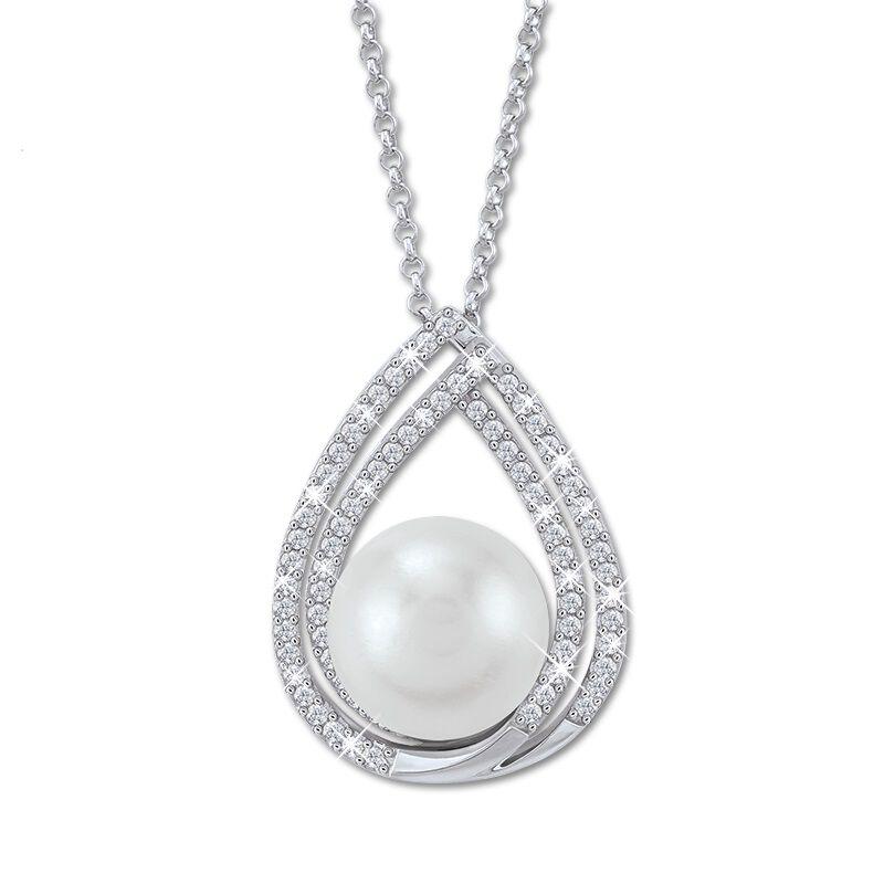 drop of elegance pearl pendant UK DOEPP a main