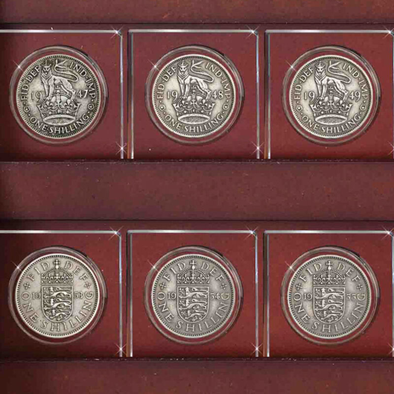 the complete shilling crystal collection UK SHC b two