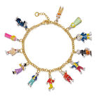 rupert bear charm bracelet UK RBCB a main