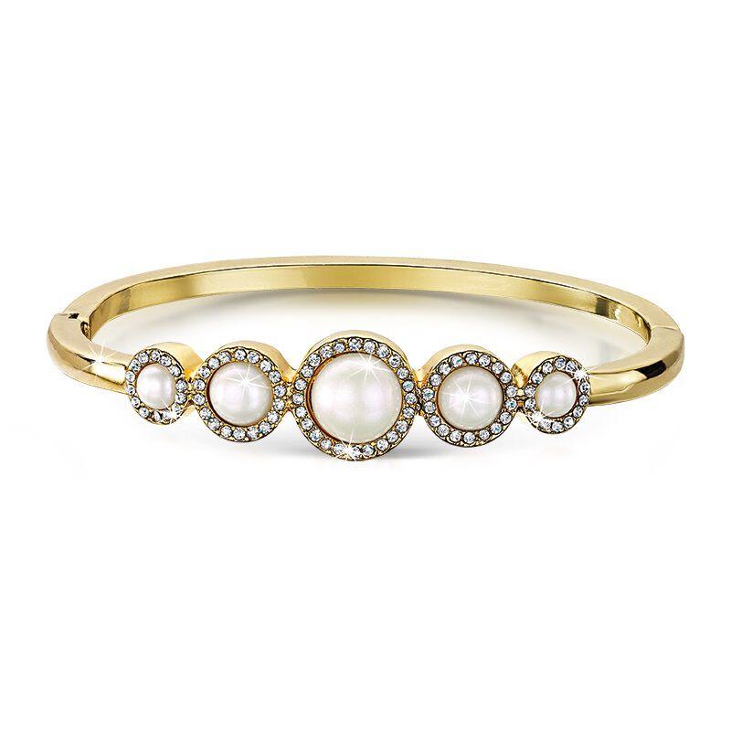 crystal pearl elegance bracelet UK CPEB a main