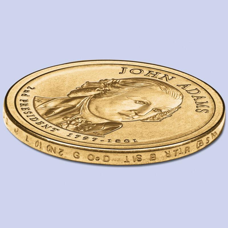 2007 adams dollar error coins UK ADEC d four